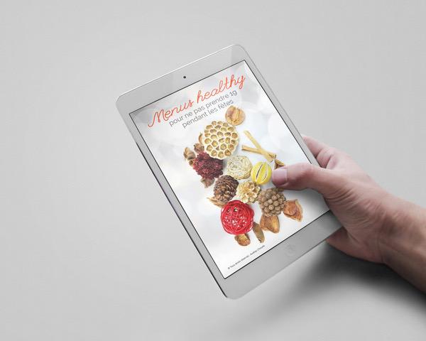 Ebook de menus spécial fêtes