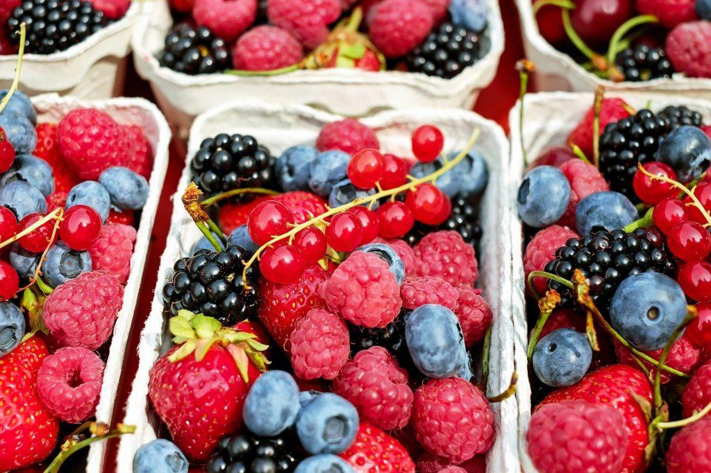 Liste des fruits les moins caloriques